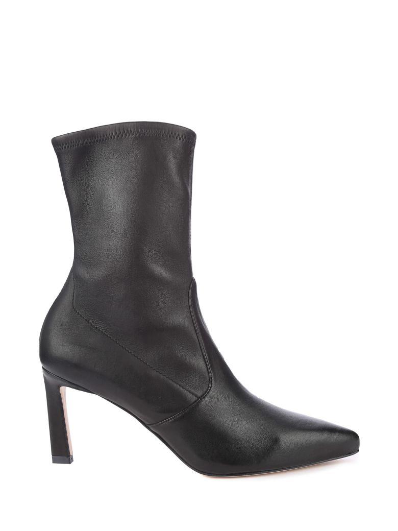 Stuart Weitzman Rapture 75 Stretch-leather Sock Boots - Nero