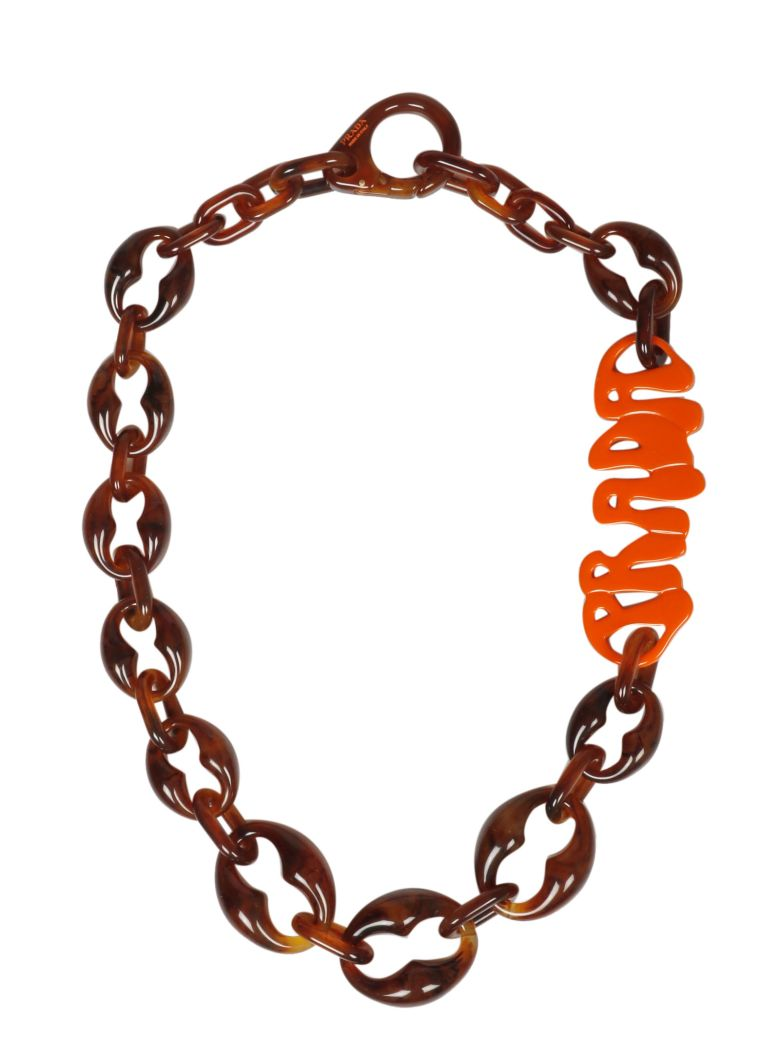 Prada Logo Necklace - Xsy