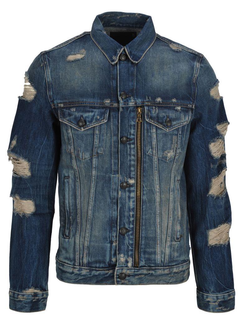 R13 Broken Denim Jacket - Basic