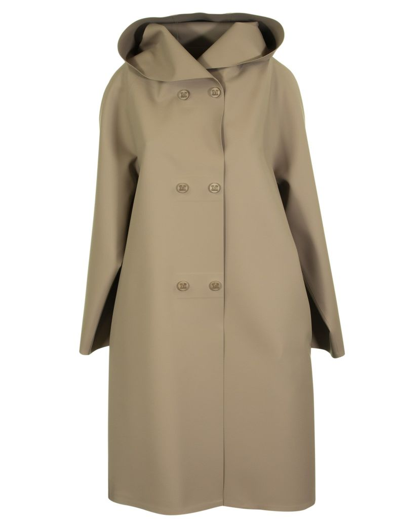 Max Mara Double Breasted Long Coat - CAMEL