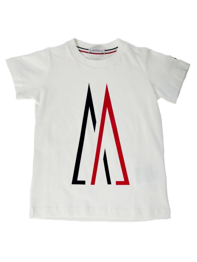 Moncler Kids M Logo T-shirt