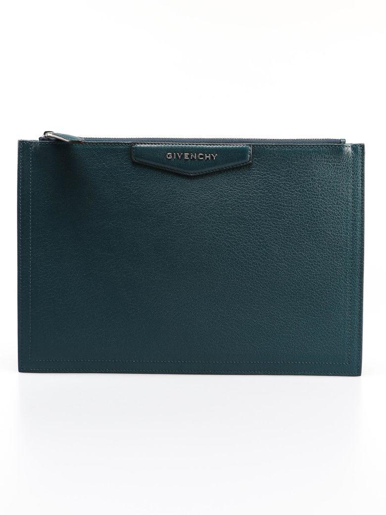 Givenchy Large Antigona Pouch - Prussian Blu