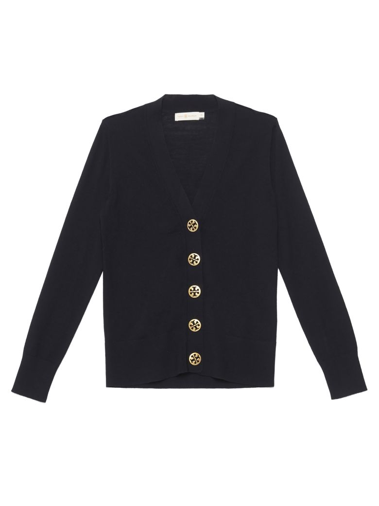 Tory Burch 'madeline' Cardigan - Blue