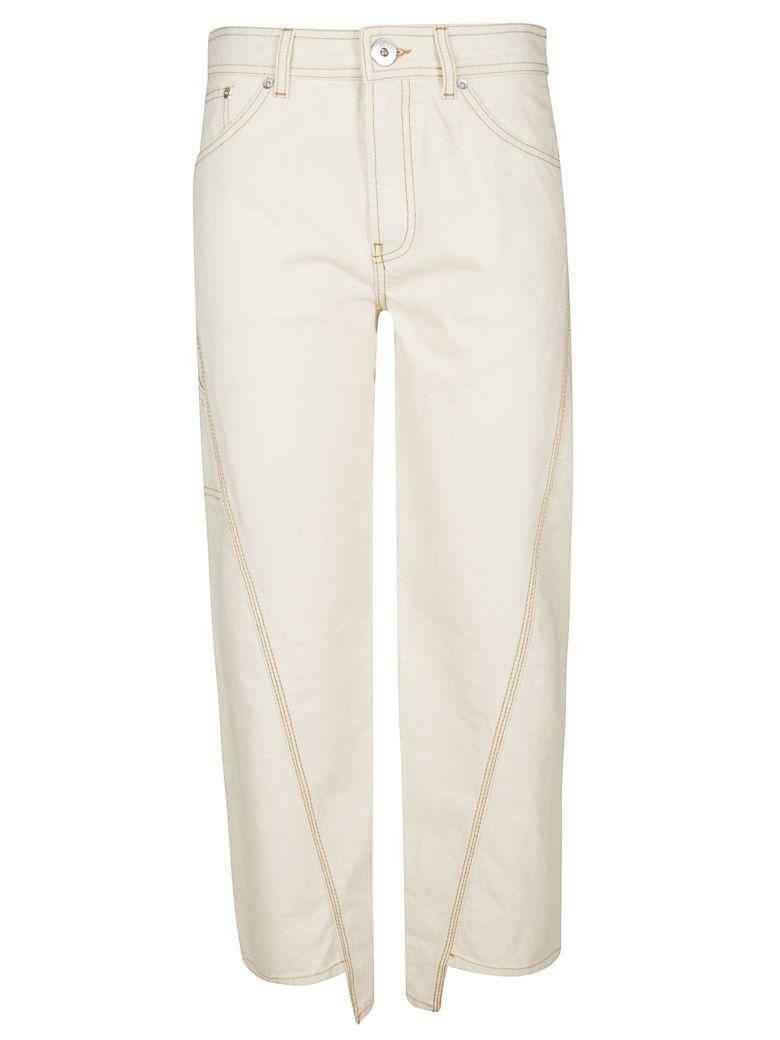 Lanvin Wide Leg Trousers - White