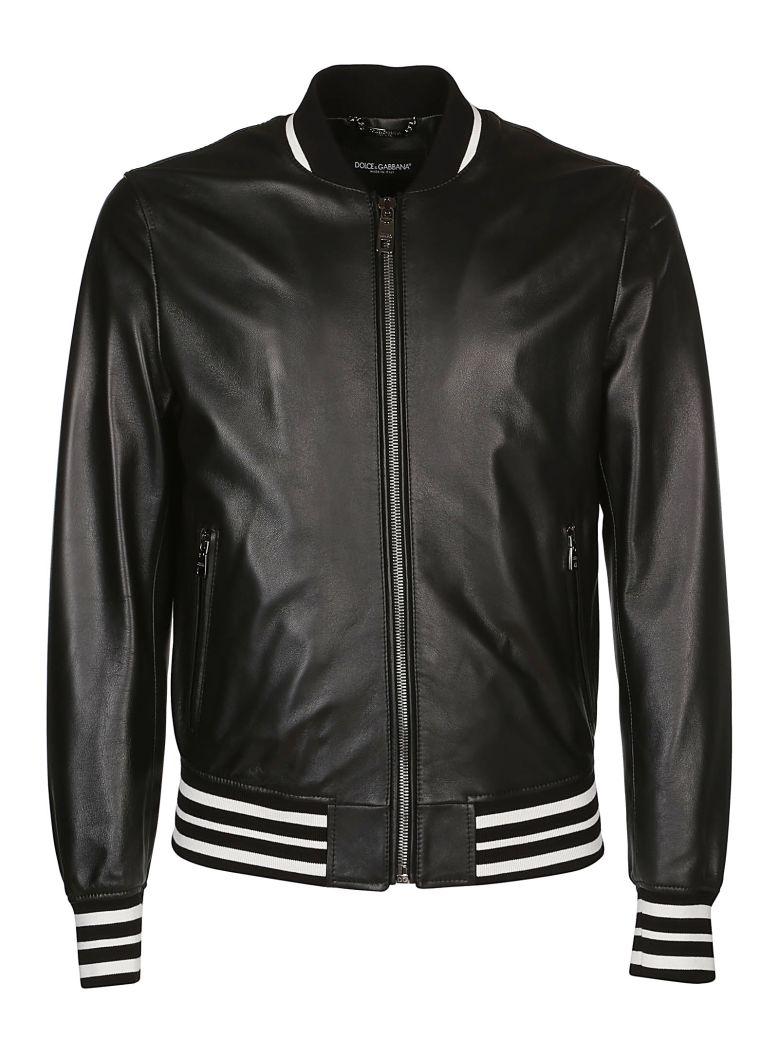 Dolce & Gabbana Zip-up Bomber - Black