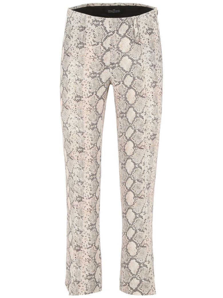 Rokh Snake Print Trousers - BEIGE (Beige)