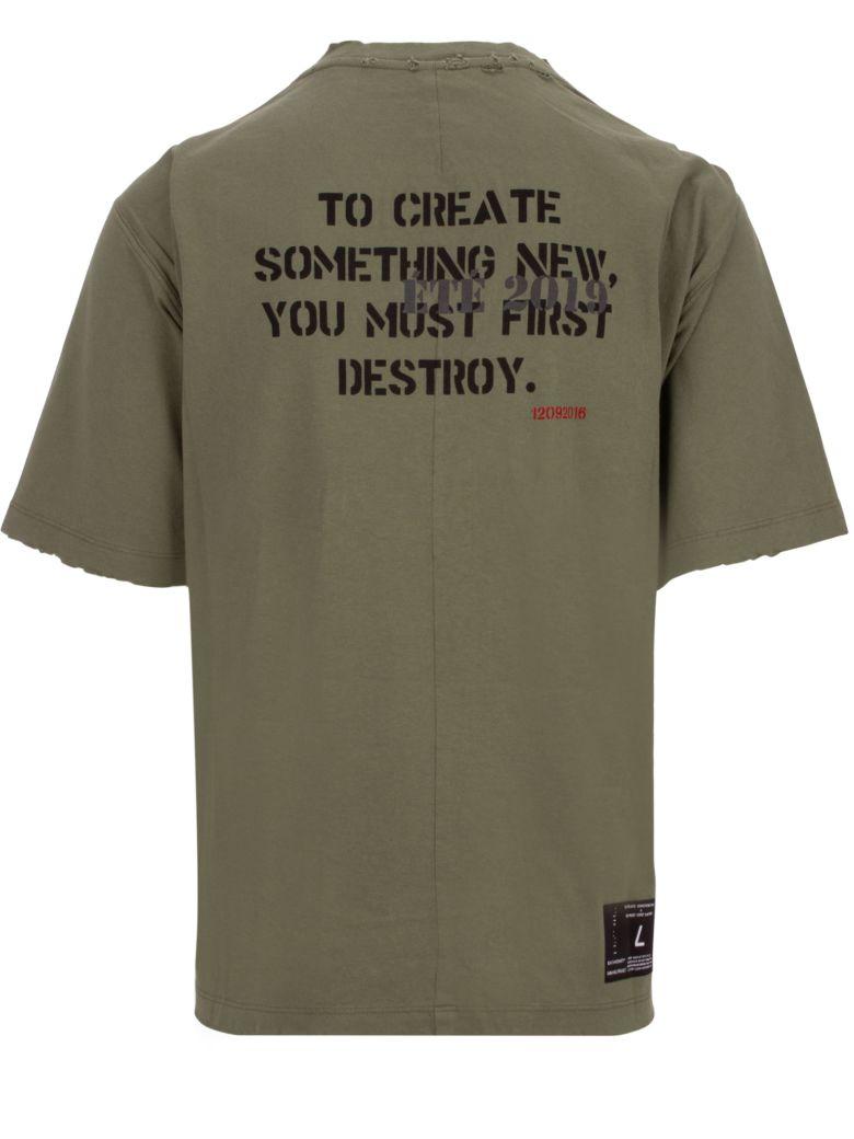 Ben Taverniti Unravel Project T-shirt - Military green