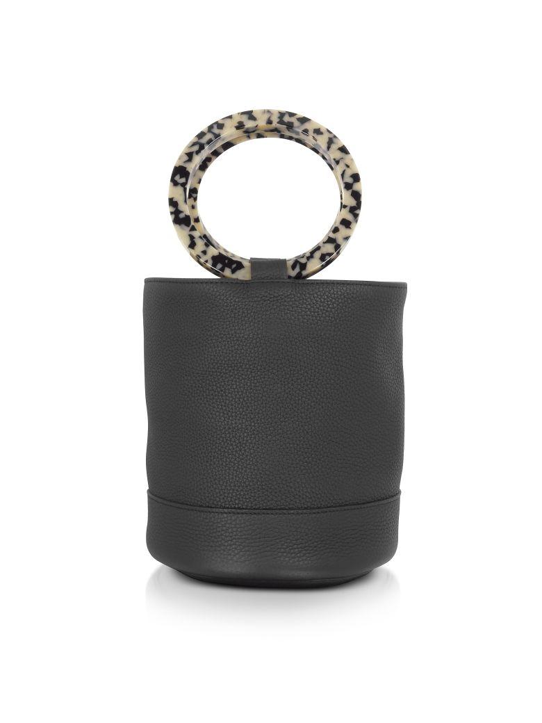 Simon Miller S804 Leather Bonsai 20 Cm Bag - Black