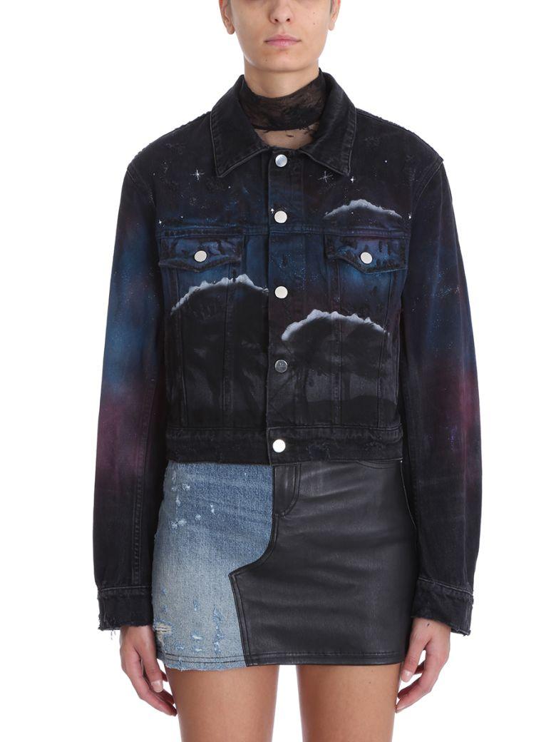 AMIRI Black Denim Jacket - black