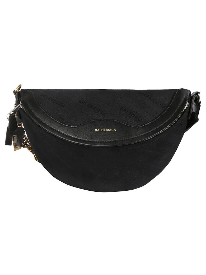 Balenciaga Souvenir Shoulder Bag - Noir