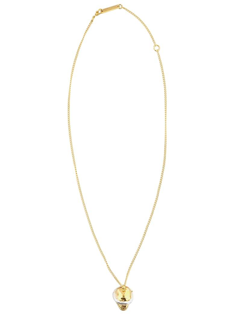 AMBUSH Skull Necklace - Gold