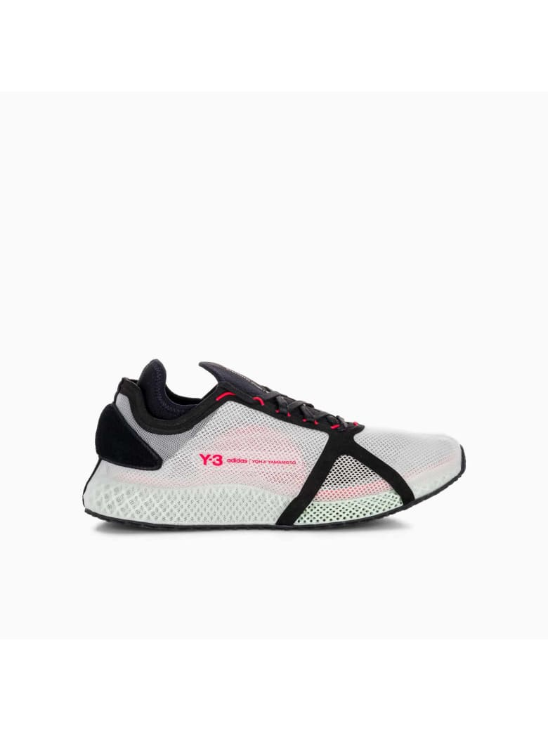 Y-3 Adidas Y3 Y-3 Runner 4d Iow - CLEAR BROWN BLACK RED