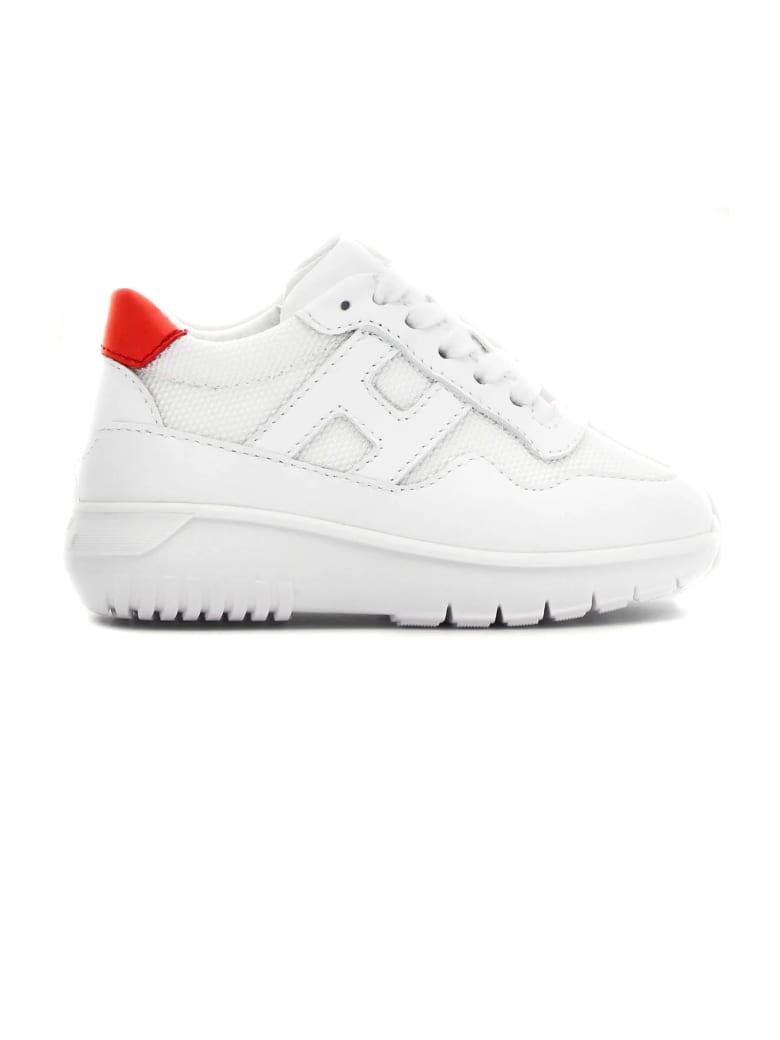 Hogan White Interactive³ Sneakers - Bianco