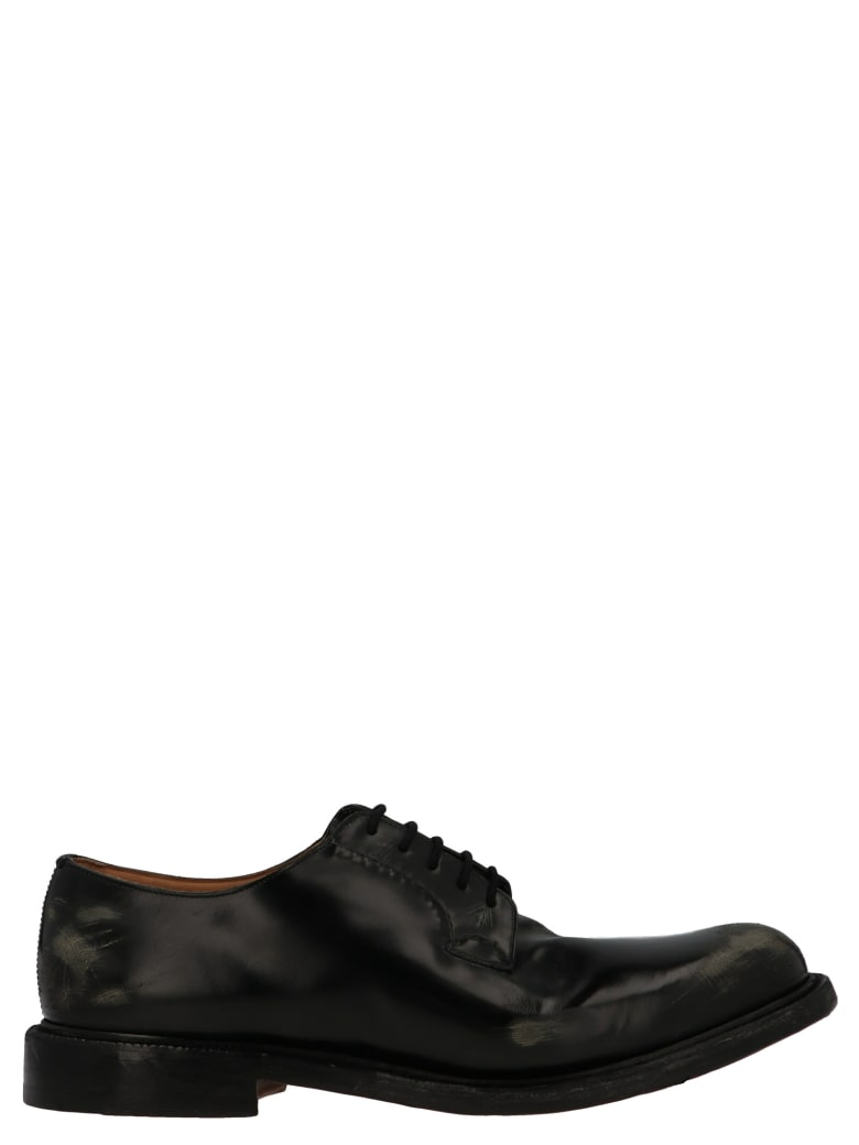 Church's 'shannon Distressed' Shoes - Black