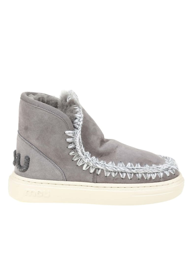 Mou Sneakers Eskimo In Gray Suede - GREY