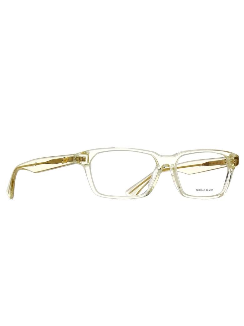 Bottega Veneta BV1098O Eyewear - Beige Beige Transpare