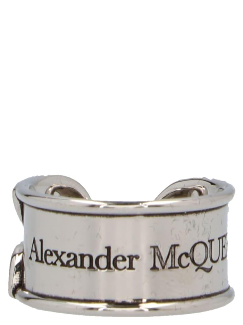Alexander McQueen Ring - Silver