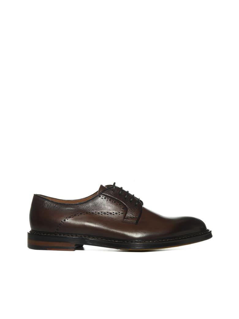 Doucal's Laced Shoes - Marrone fdo bourbon