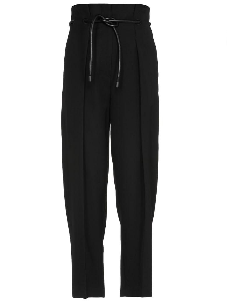 3.1 Phillip Lim Plain Color Trousers - BLACK