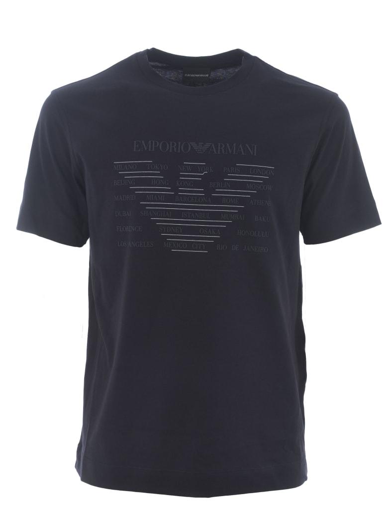 Emporio Armani T-shirt - Blu