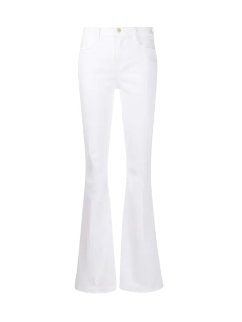Frame Le High Flare Jean - Blanc Blanc