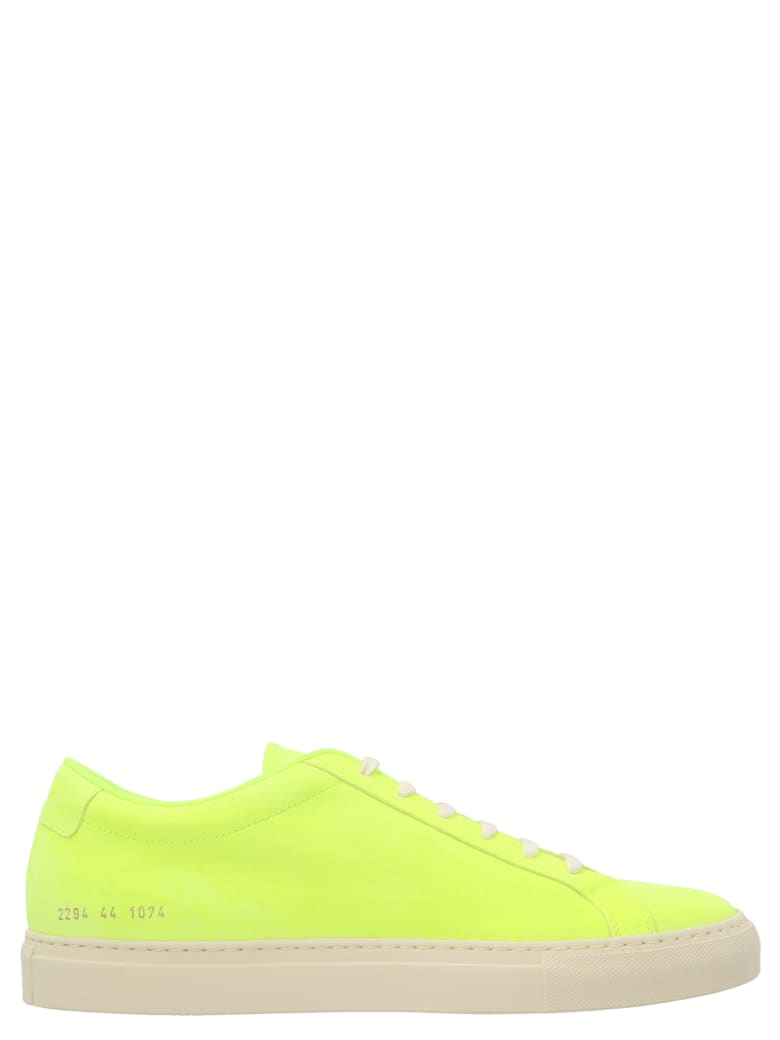 Common Projects 'achilles Fluo' Shoes - Giallo