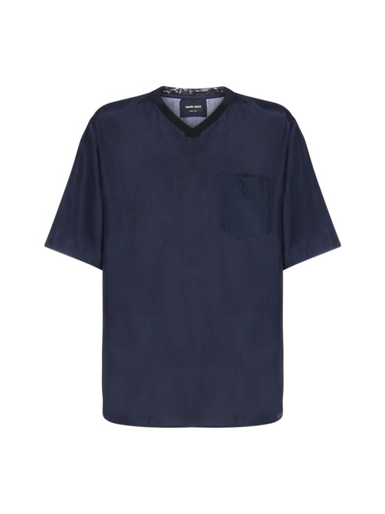 Giorgio Armani Sweater - Navy blazer