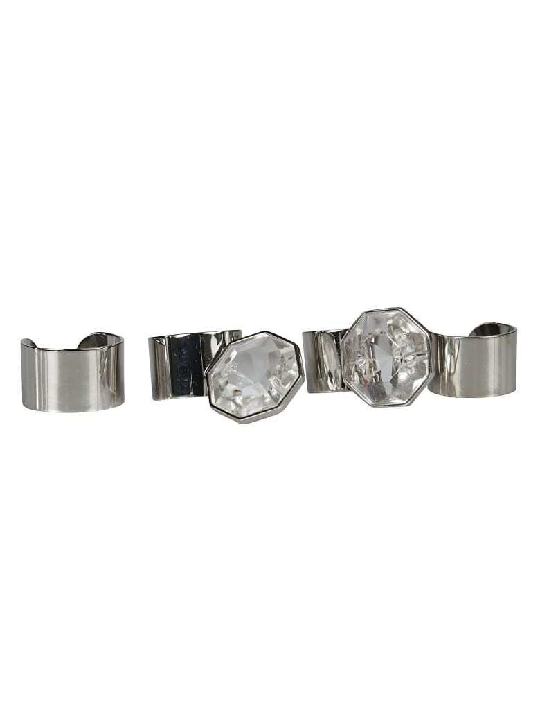 Maison Margiela Assorted Ring - Silver