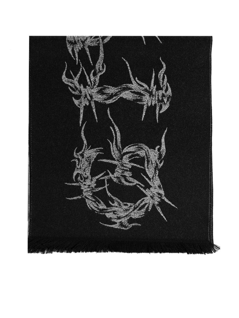 Givenchy Scarf - Black white