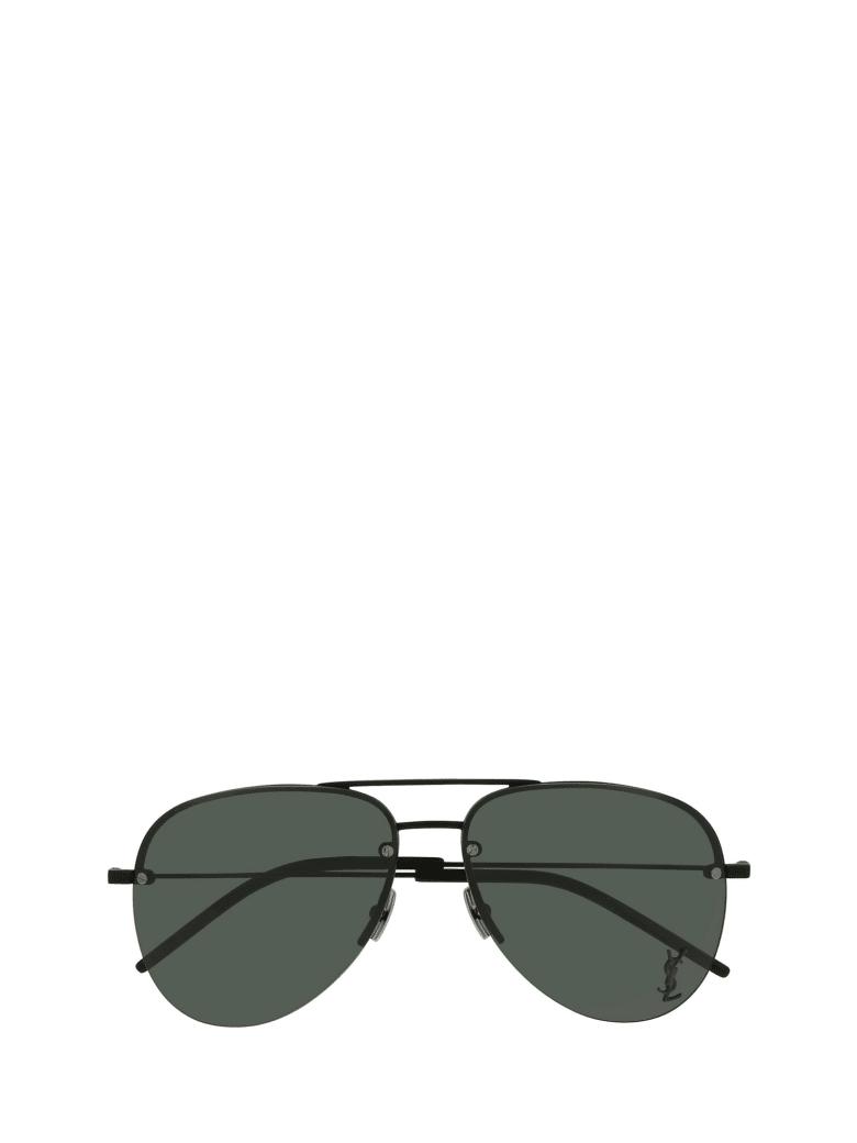 Saint Laurent Saint Laurent Classic 11 M Black Sunglasses - Black