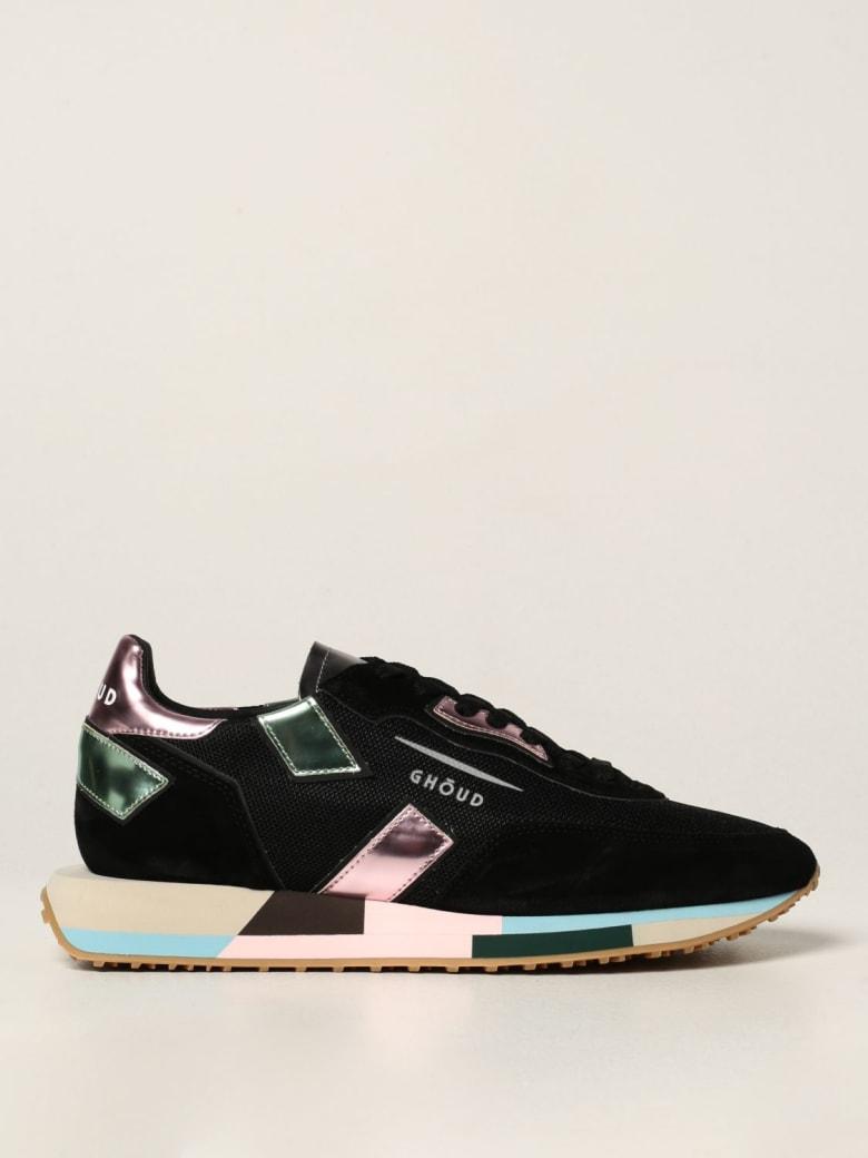GHOUD Sneakers Rush Ghoud Sneakers In Suede And Mesh - Black