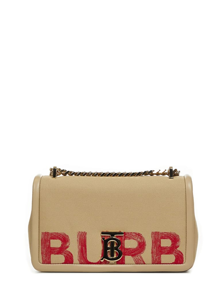Burberry Lola Small Shoulder Bag - Beige