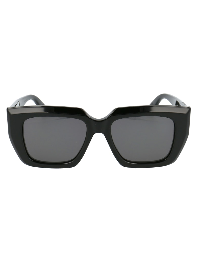 Bottega Veneta Bv1030s Sunglasses - 001 BLACK BLACK GREY