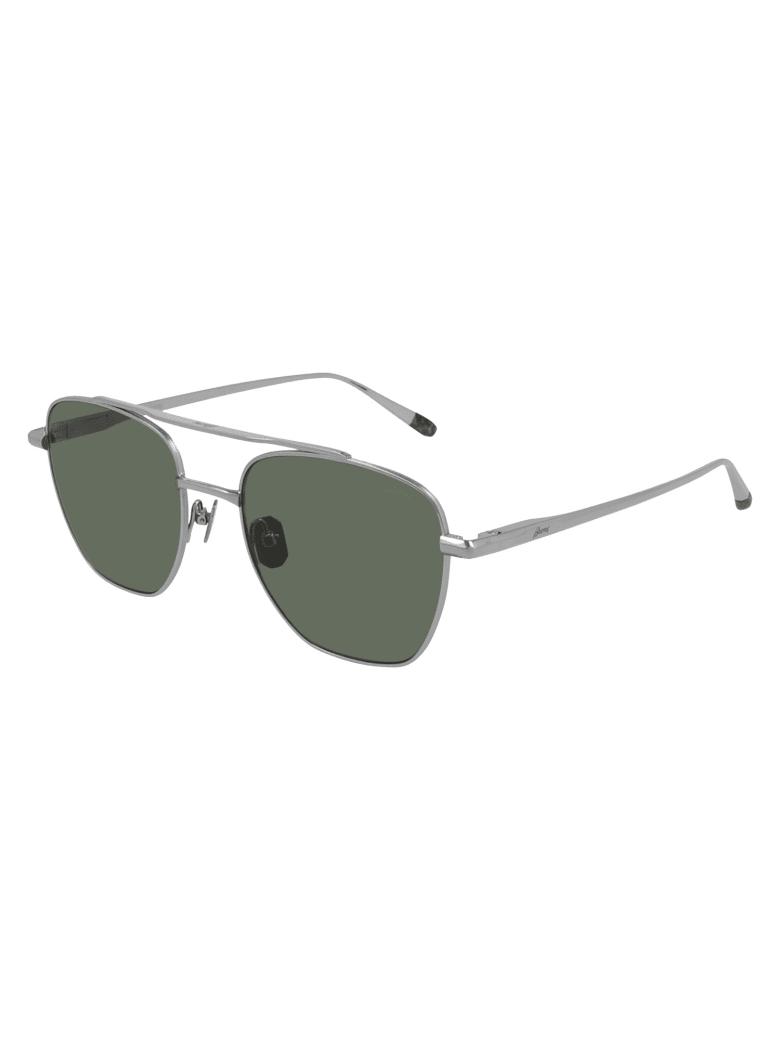 Brioni BR0089S Sunglasses - Silver Silver Green