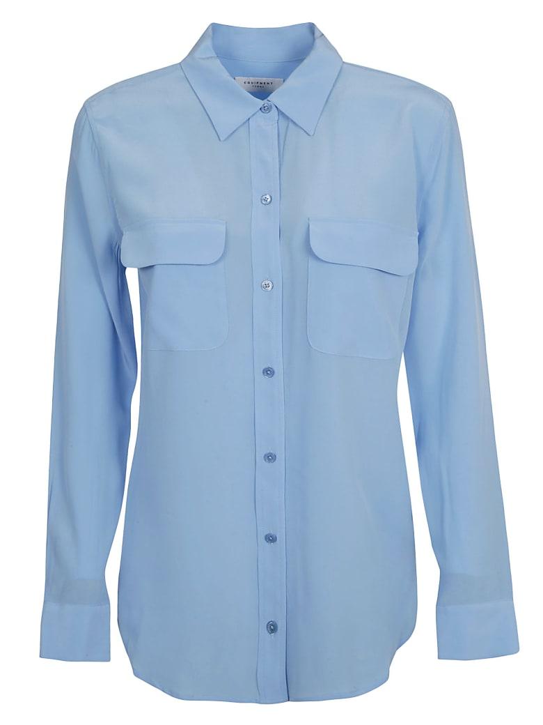 Equipment Double Front Pocket Shirt - Garconne Blue
