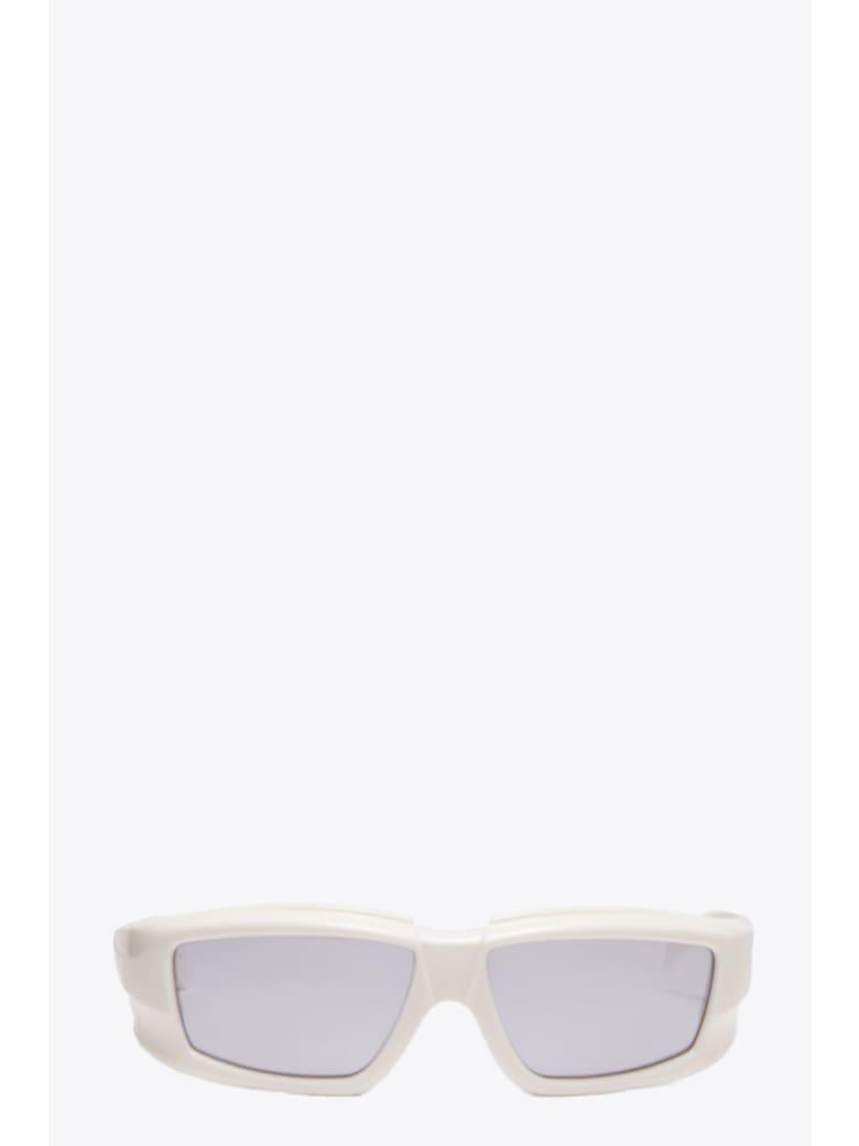 Rick Owens Sunglasses Rick - Crema specchiato