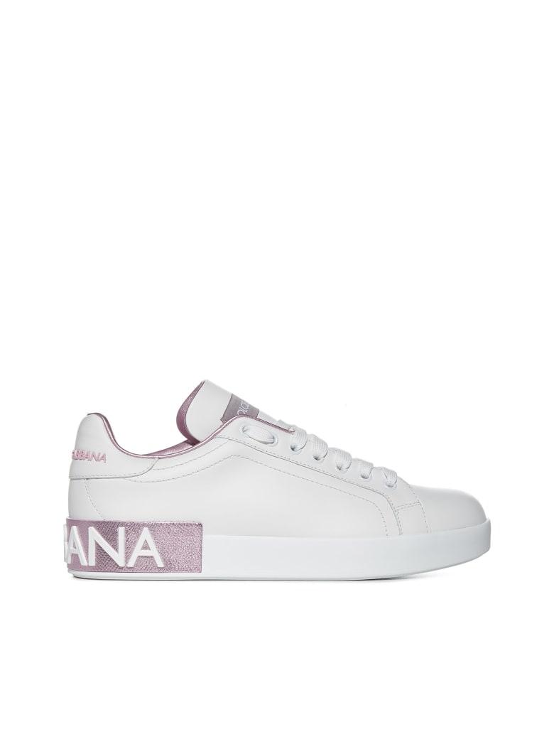 Dolce & Gabbana Sneakers - Bianco rosa