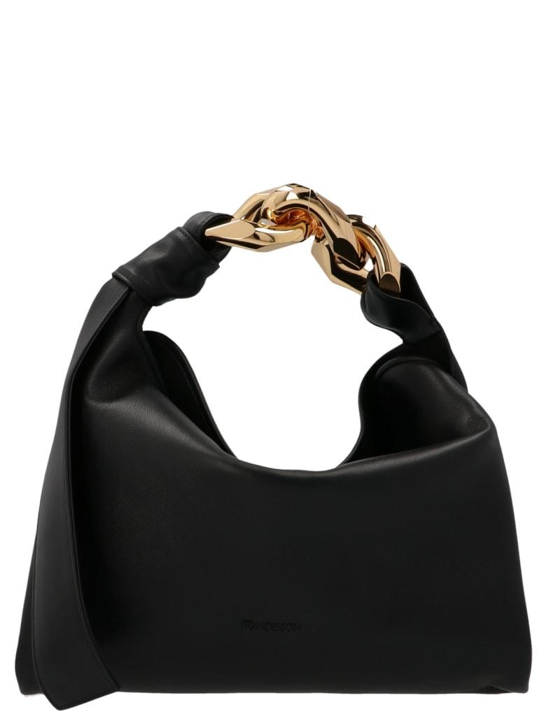 J.W. Anderson 'chain Hobo' Bag - Black