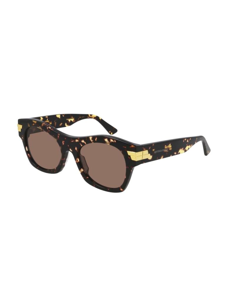 Bottega Veneta BV1103S Sunglasses - Havana Havana Brown