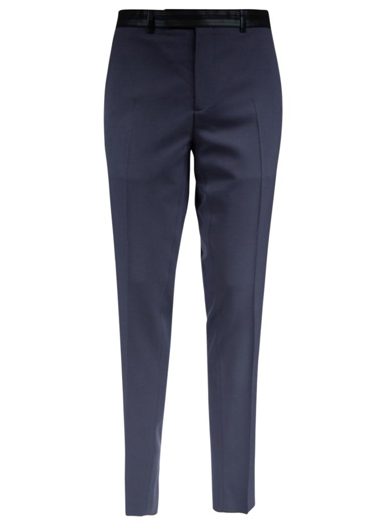 Christian Dior Waist Logo Trousers - Grey