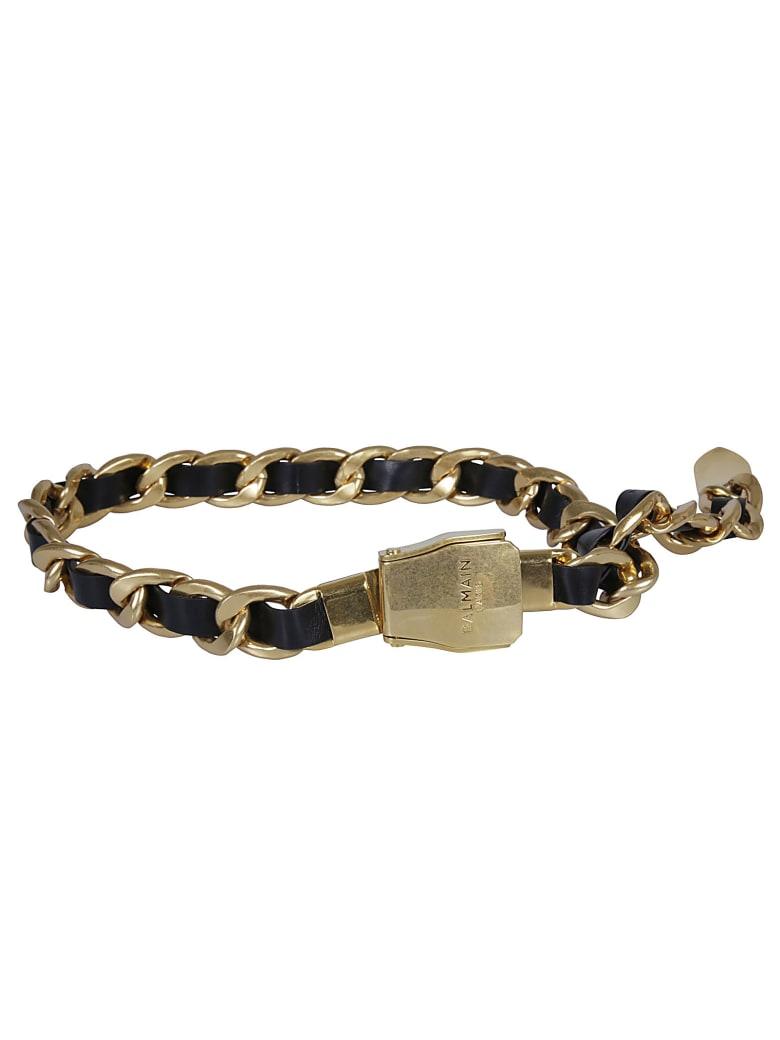 Balmain Chain Belt - Gold/Black