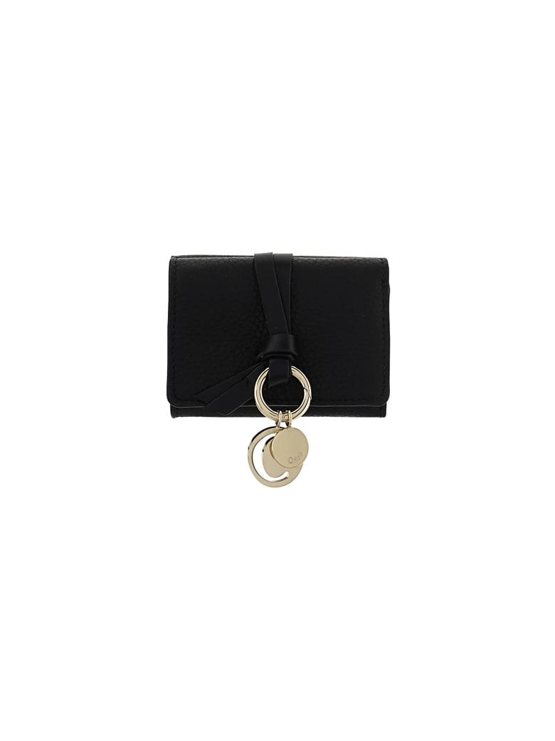 Chloé Alphabet Wallet - Black
