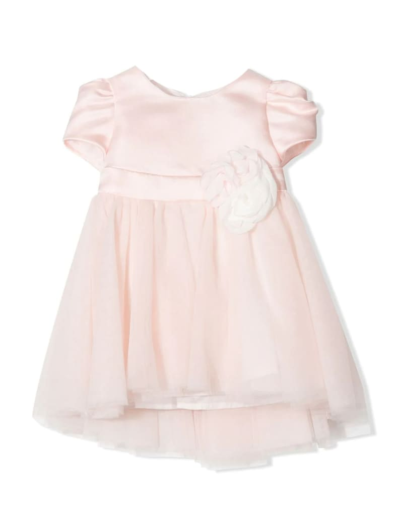 Monnalisa Pink Tulle Dress - Rosa
