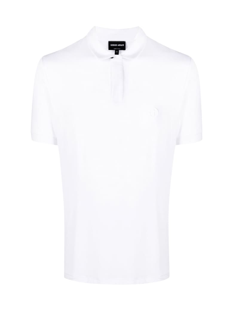 Giorgio Armani Ss Polo - White
