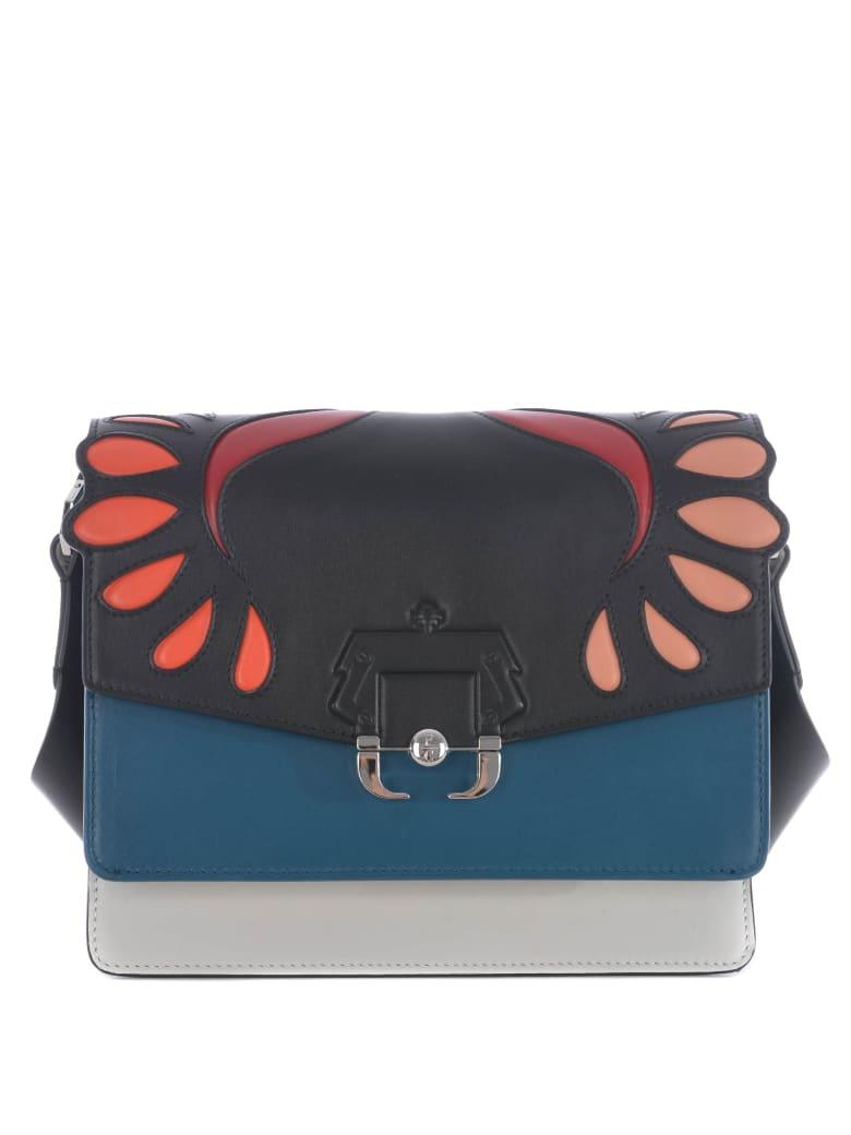 Paula Cademartori Shoulder Bag - Nero/petrolio