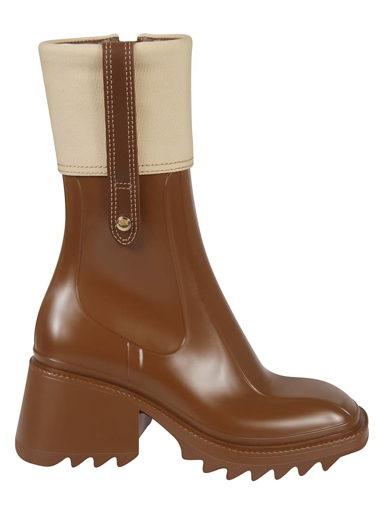 Chloé Betty Boots - Marrone