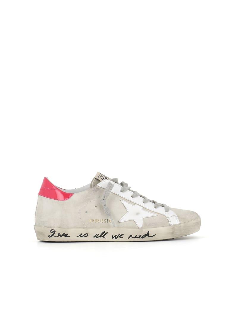 Golden Goose Sneaker Superstar - Bianca/rosa/grigio