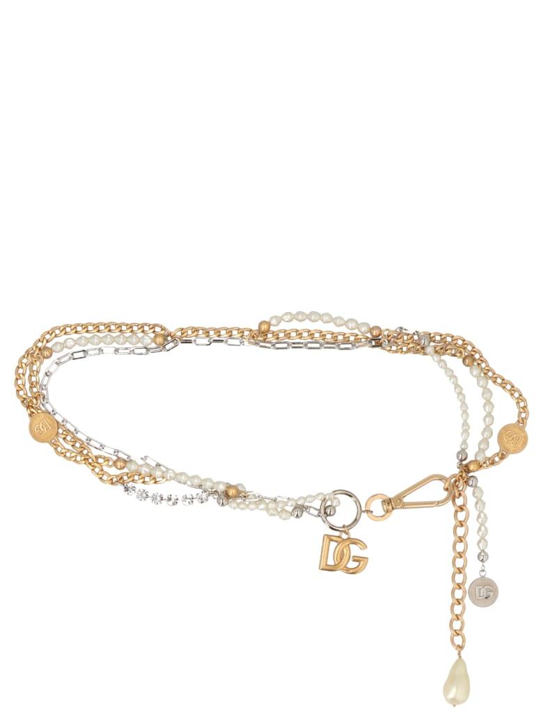 Dolce & Gabbana '90s'  Belt - Gold