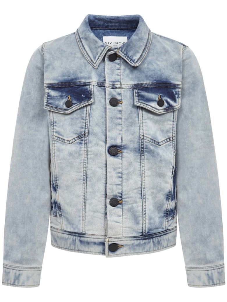 Givenchy Kids Jackets - Blue