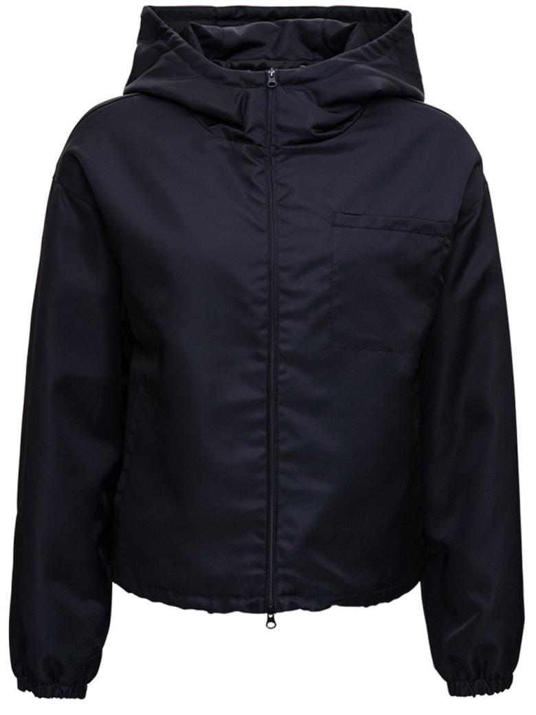 Tessa Black Nylon Jacket - Black
